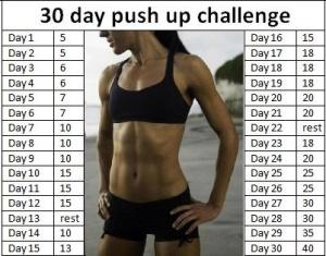 push ups challenge